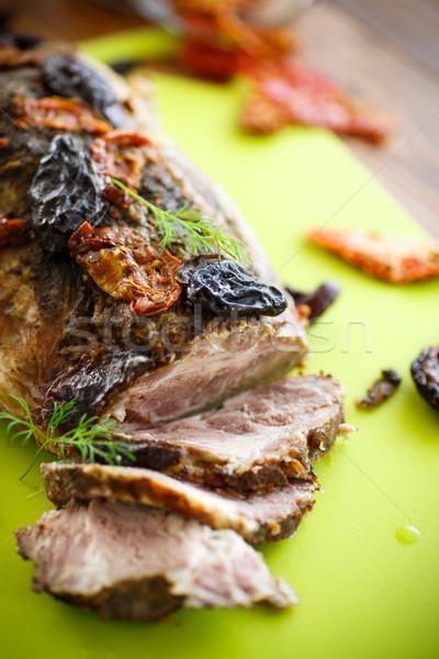мяса помидоров специи продовольствие кухне Сток-фото © Peredniankina