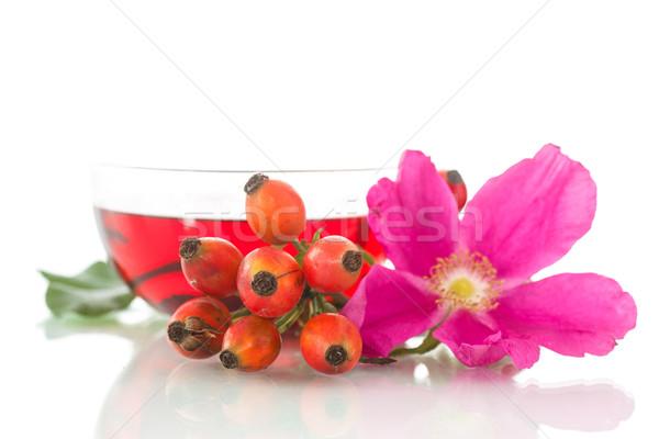 tea with rosehip Stock photo © Peredniankina