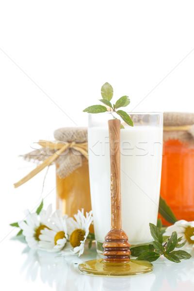 milk with honey Stock photo © Peredniankina
