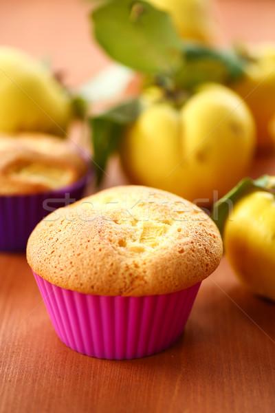 торт айва Sweet фаршированный таблице Сток-фото © Peredniankina