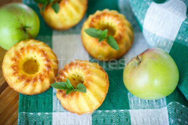 apple muffins Stock photo © Peredniankina