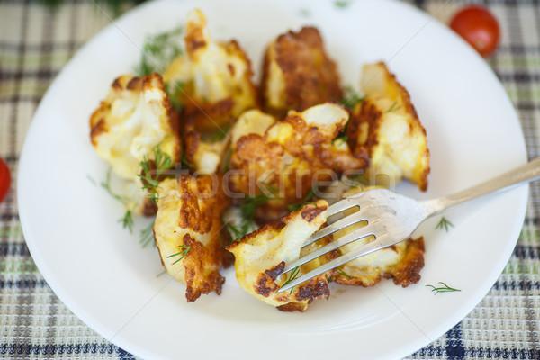 fried cauliflower Stock photo © Peredniankina