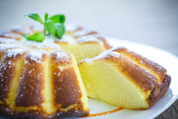 Cottage cheese casserole Stock photo © Peredniankina