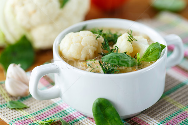 cauliflower soup Stock photo © Peredniankina