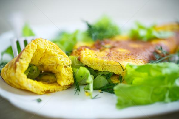Roasted omelet Stock photo © Peredniankina