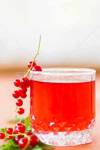 compote of red currants Stock photo © Peredniankina