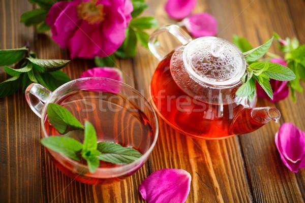 fresh tea with rosehip  Stock photo © Peredniankina