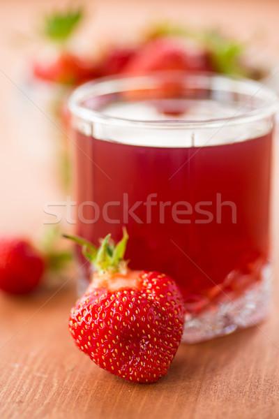 strawberry compote Stock photo © Peredniankina
