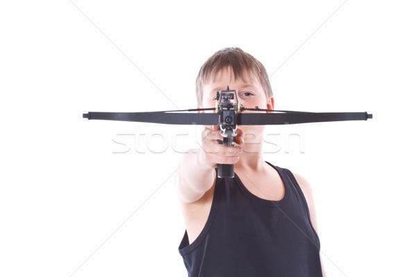 подростку подростков спорт ребенка фон портрет Сток-фото © Peredniankina
