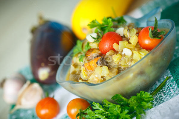 eggplant ragout Stock photo © Peredniankina