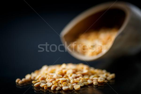 dried peas Stock photo © Peredniankina