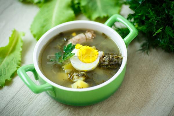 soup with sorrel  Stock photo © Peredniankina