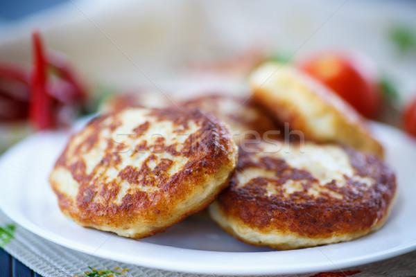 Fish fried patties  Stock photo © Peredniankina