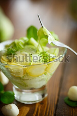 salad of fresh spring cabbage  Stock photo © Peredniankina