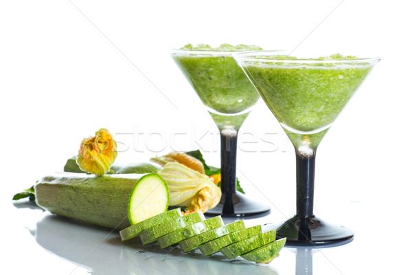 mashed squash in a glass Stock photo © Peredniankina
