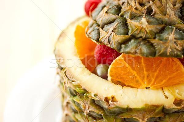 fruit salad Stock photo © Peredniankina