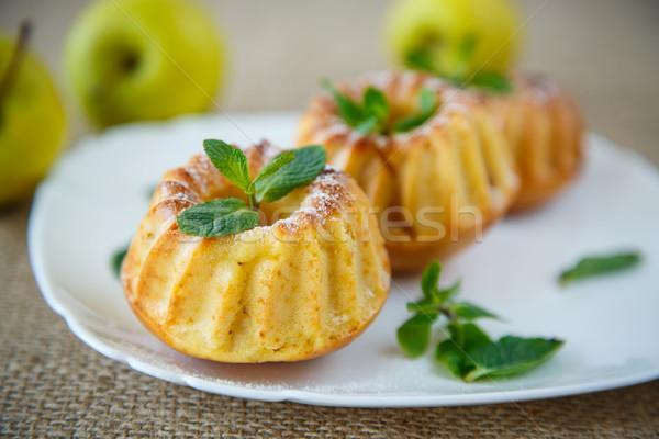 Tatlı elma nane sonbahar Stok fotoğraf © Peredniankina