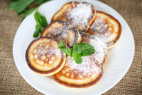 Sweet сахарная пудра продовольствие таблице завтрак Сток-фото © Peredniankina