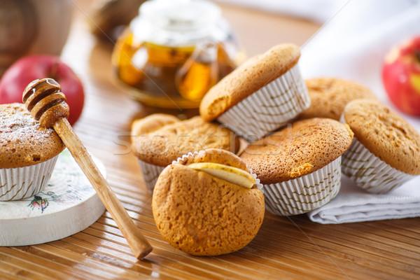 honey muffins Stock photo © Peredniankina