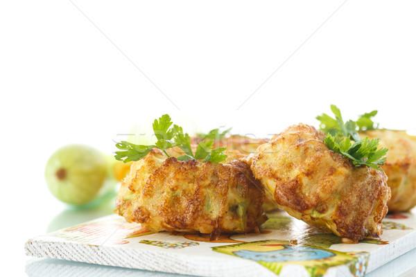 zucchini muffins Stock photo © Peredniankina