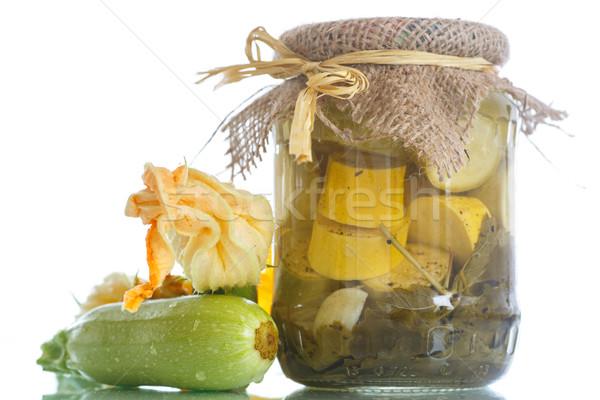 canned marrows Stock photo © Peredniankina