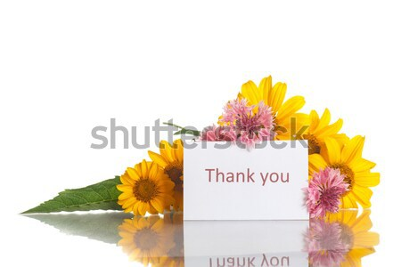 Lumineuses bouquet amour anniversaire fond cadre Photo stock © Peredniankina