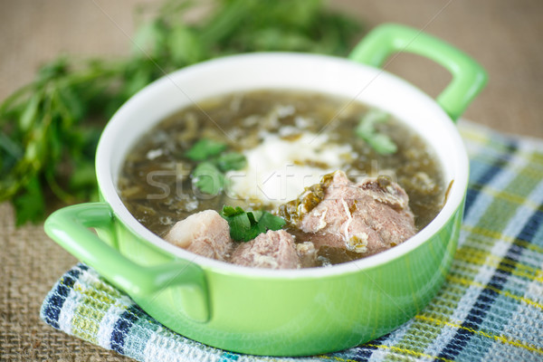 sorrel soup Stock photo © Peredniankina