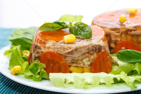 meat aspic Stock photo © Peredniankina