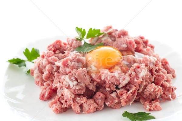 minced meat Stock photo © Peredniankina