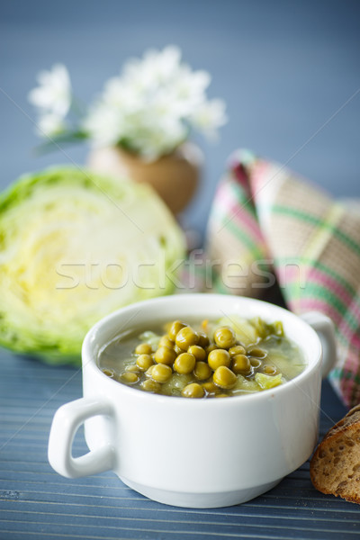 pea soup Stock photo © Peredniankina