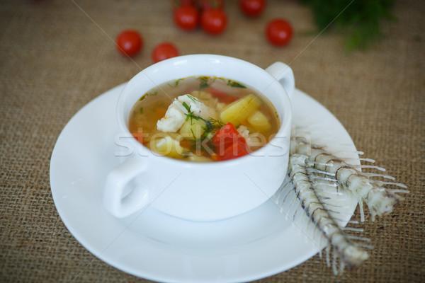 fish soup Stock photo © Peredniankina