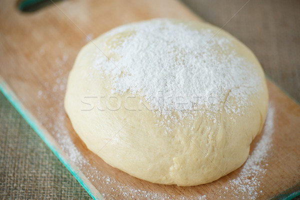 Lievito greggio farina sfondo pane Foto d'archivio © Peredniankina