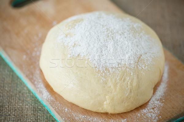 дрожжи сырой мучной фон хлеб Сток-фото © Peredniankina
