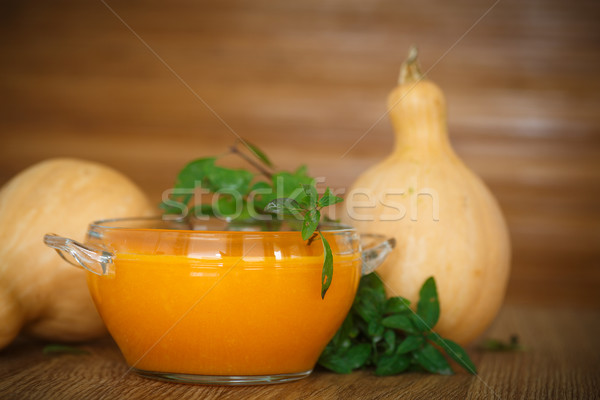 pumpkin porridge Stock photo © Peredniankina