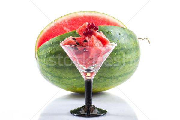 Watermelon cocktail Stock photo © Peredniankina