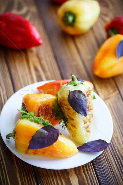 roasted peppers Stock photo © Peredniankina