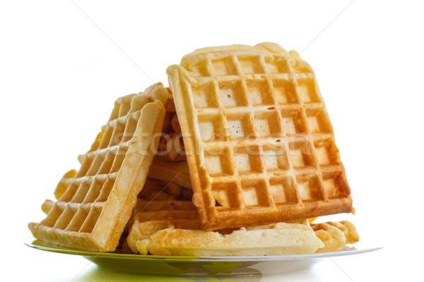 Viennese sweet waffles  Stock photo © Peredniankina