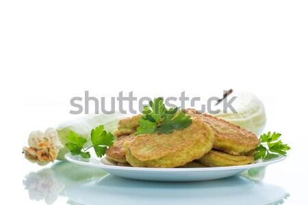 Boiled pelmeni Stock photo © Peredniankina