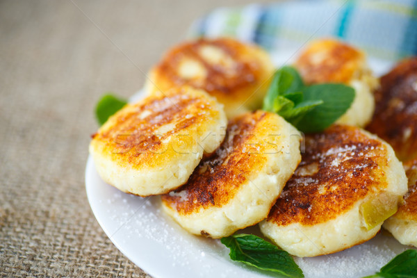 cheesecakes fritters Stock photo © Peredniankina