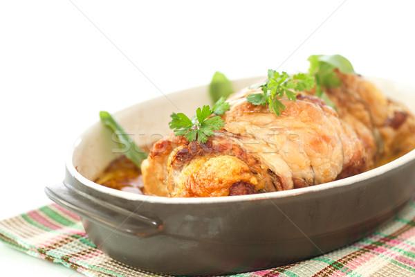 baked meat Stock photo © Peredniankina