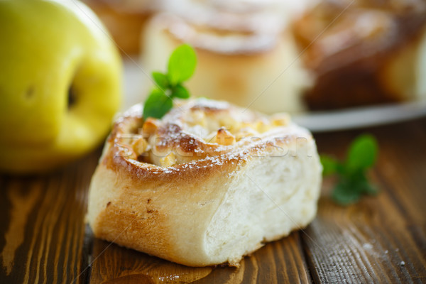 Dulce membrillo mesa alimentos naturaleza Foto stock © Peredniankina