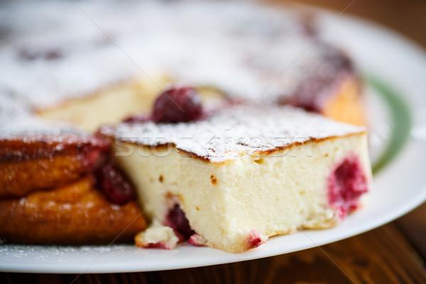 casserole cottage cheese Stock photo © Peredniankina