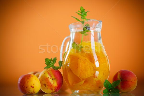 apricot compote Stock photo © Peredniankina