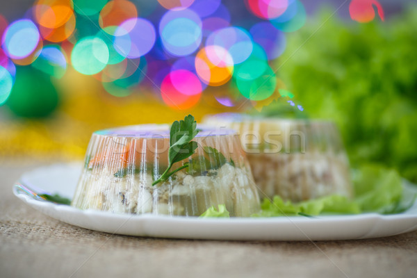 fish in aspic Stock photo © Peredniankina