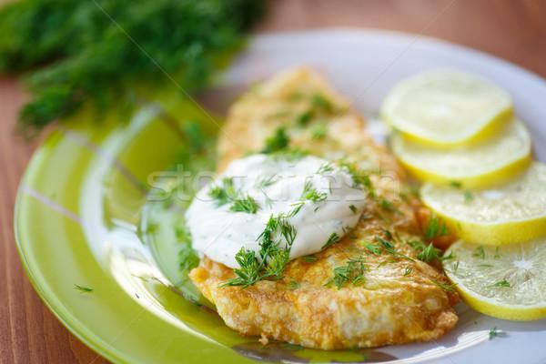 Соусы для жареной рыбы рецепты