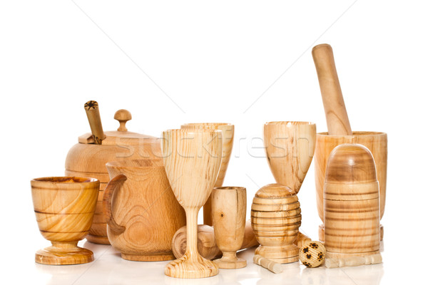 wooden ware Stock photo © Peredniankina
