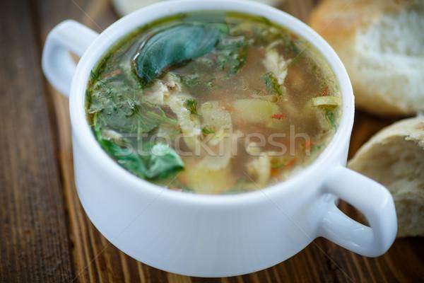 pickle soup Stock photo © Peredniankina