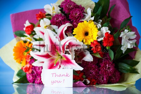 bouquet of beautiful wild roses  Stock photo © Peredniankina