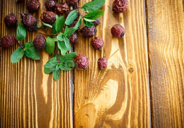 Dried rose hips  Stock photo © Peredniankina