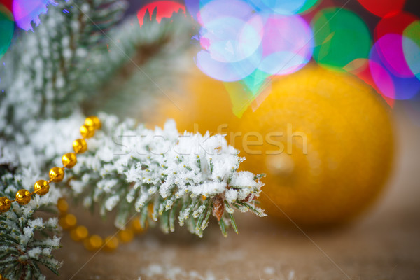 クリスマスツリー 抽象的な ツリー パーティ 幸せ ストックフォト © Peredniankina